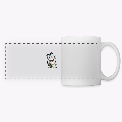 The Lucky Cat - Panoramic Mug