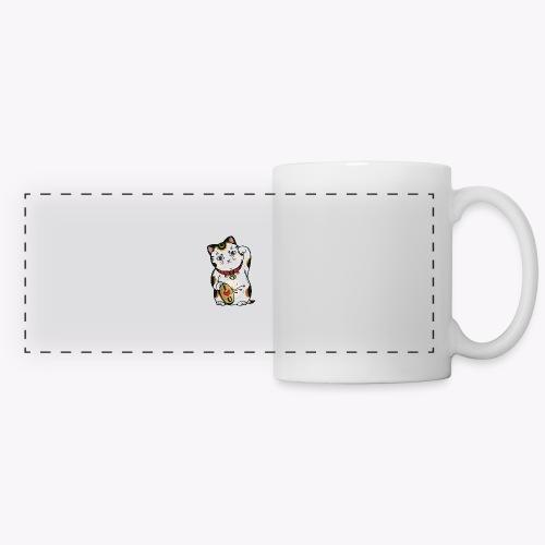 Love Lucky Cat - Panoramic Mug