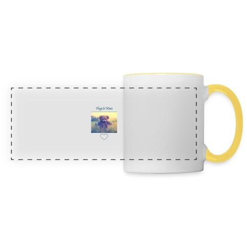 Hugs & Kisses: Phone Case - Panoramic Mug