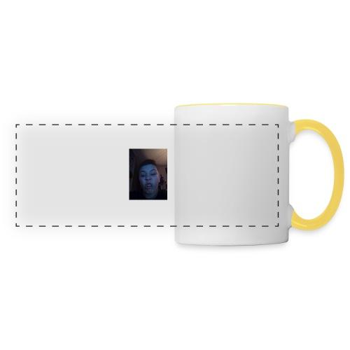 Tasse lilian - Mug panoramique contrasté et blanc