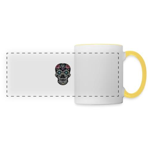 Floral Skull - Panoramic Mug