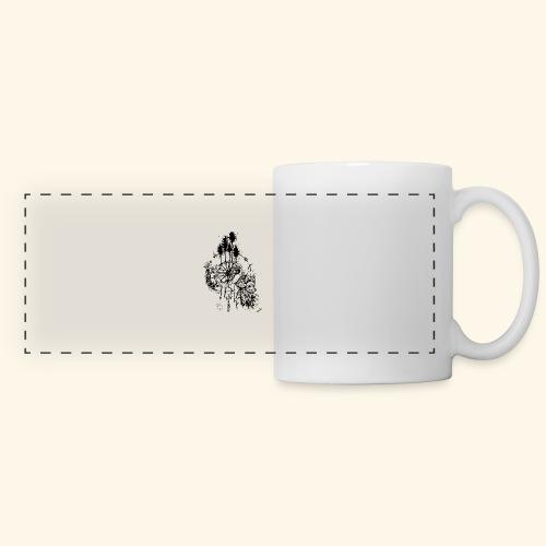 renard nature - Mug panoramique contrasté et blanc
