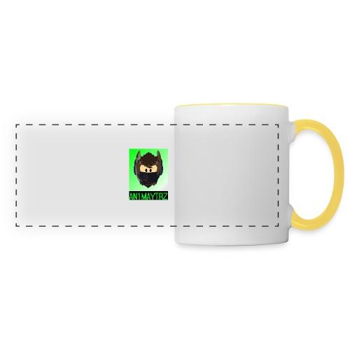 AN1MAYTRZ logo + title - Panoramic Mug