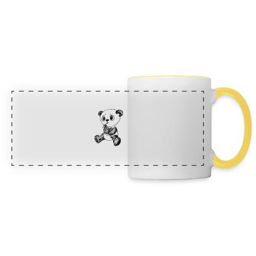 Panda bjørn sort scribblesirii - Panoramakrus