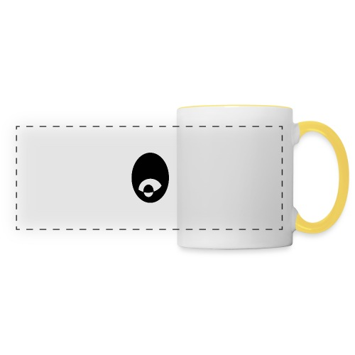 oeildx - Mug panoramique contrasté et blanc
