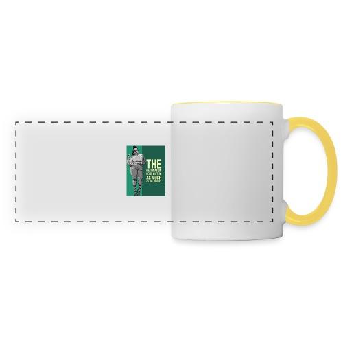 girlquote - Mug panoramique contrasté et blanc