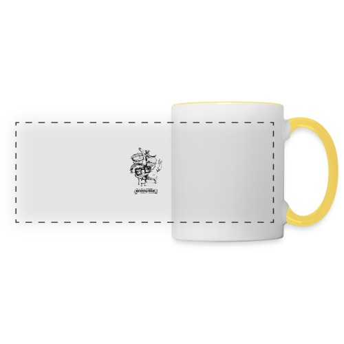 Illu Geeksleague - Mug panoramique contrasté et blanc