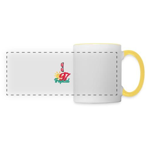 A01 4 - Mug panoramique contrasté et blanc