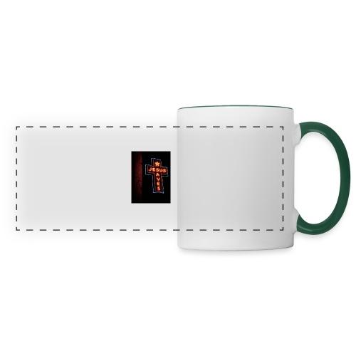 Jesus Saves - Panoramic Mug