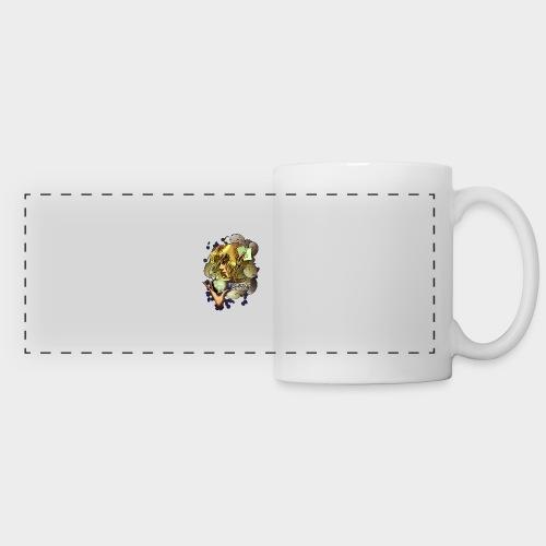 Fighting cards - Soigneuse - Mug panoramique contrasté et blanc