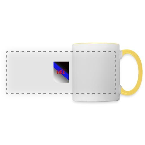 like - Mug panoramique contrasté et blanc