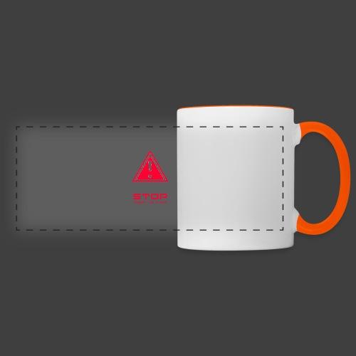 Stop insert cd first - Panoramic Mug