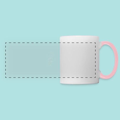 Old Guy, Eyes Open. - Panoramic Mug