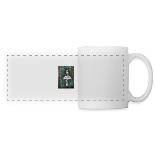 prinsess goth - Mug panoramique contrasté et blanc