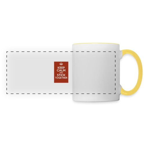 Keep calm! - Panoramic Mug