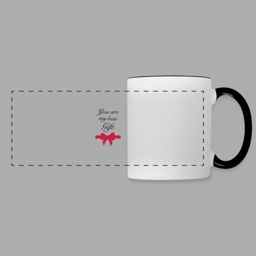 you are my best gift - Panoramic Mug