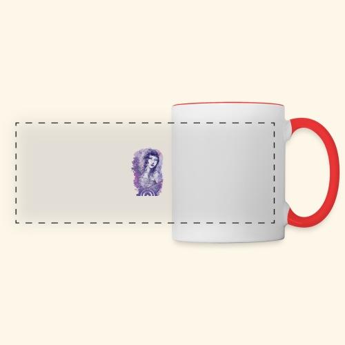 Soupir - Mug panoramique contrasté et blanc