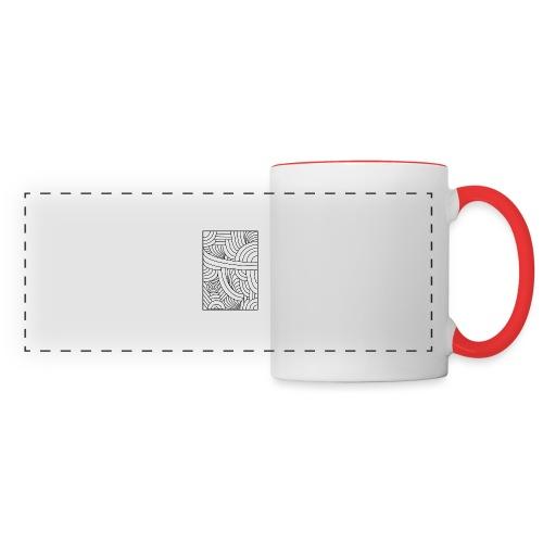 Brut - Mug panoramique contrasté et blanc