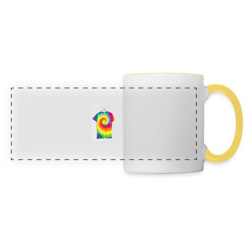 tie die small merch - Panoramic Mug