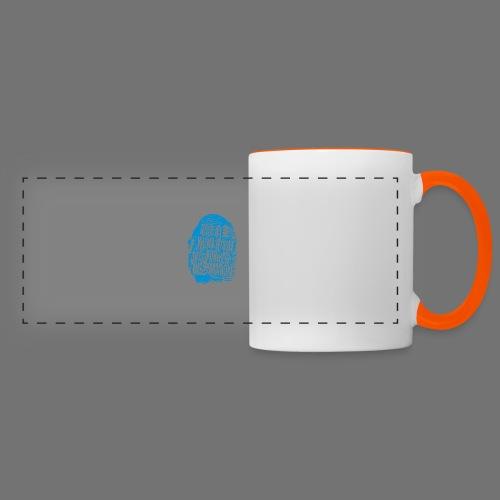 Fingerprint DNA (blue) - Panoramatasse