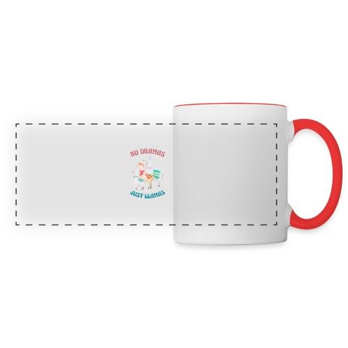 No Dramas Just Llamas - Panoramic Mug