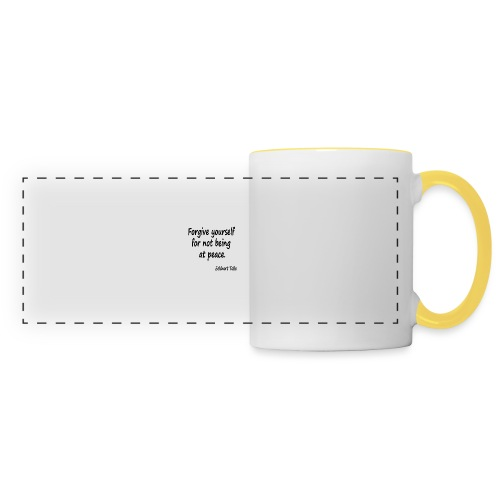 Forgive Yourself - Panoramic Mug