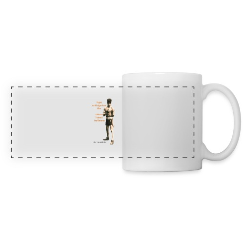 Fight Antiziganism like Johann Rukeli Trollmann - Panoramic Mug