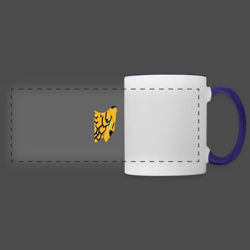 Owl Colour Redraw - Panoramic Mug