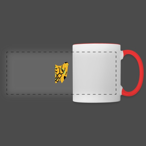 Owl Colour Redraw - Panoramic Mug