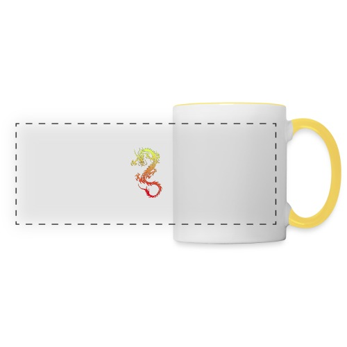 Golden Dragon - Panoramic Mug