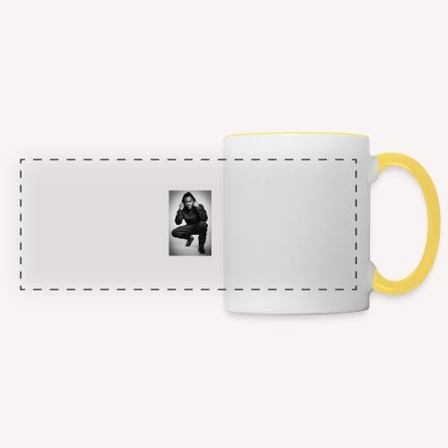 Black M - Mug panoramique contrasté et blanc
