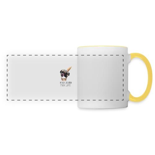 Pug Gang For Life. - Panoramic Mug