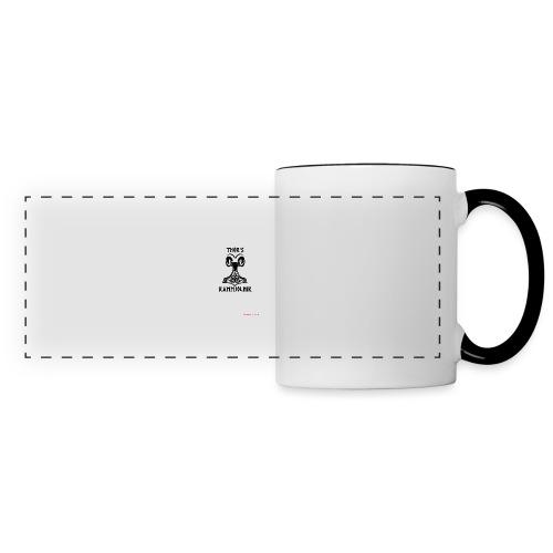 THOR's-RAMMjolnir - Mug panoramique contrasté et blanc