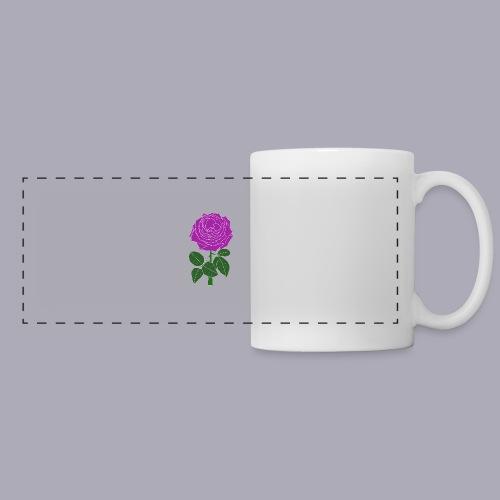 Landryn Design - Pink rose - Panoramic Mug