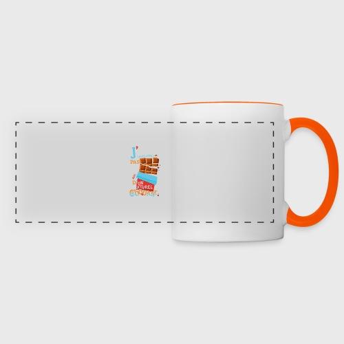 Tablettes de Chocolat - Mug panoramique contrasté et blanc