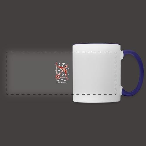 Sagittaire Négutif - Mug panoramique contrasté et blanc