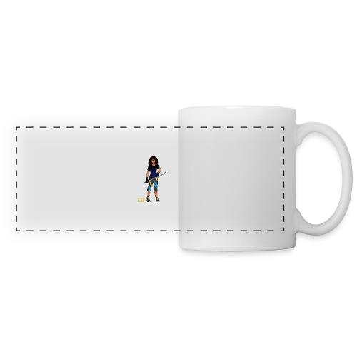 Sabre fencer - Panoramic Mug