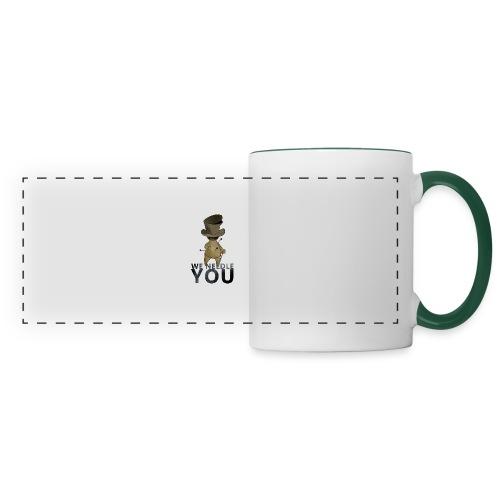 WE NEEDLE YOU - Mug panoramique contrasté et blanc