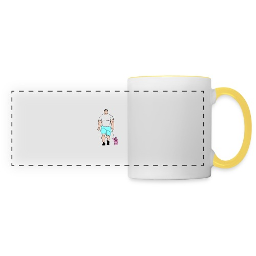 It's a poodle's job! - Panoramic Mug