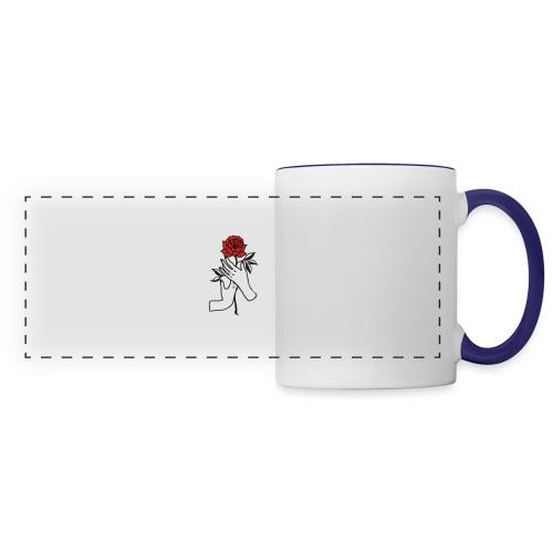 Fiore rosso - Tazza panoramica