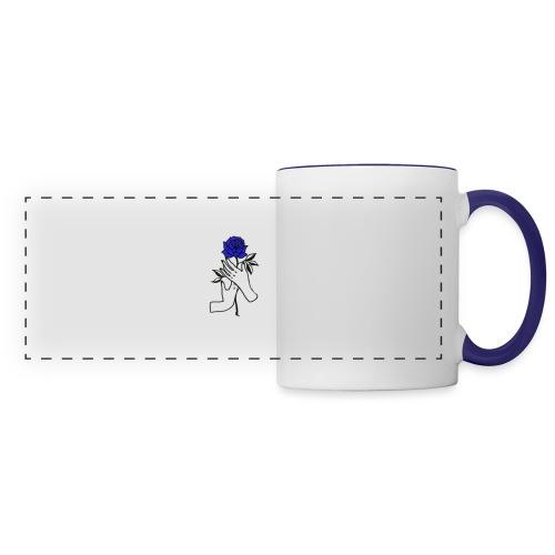 Fiore blu - Tazza panoramica