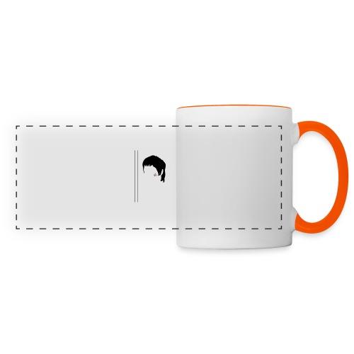 Bruce - Mug panoramique contrasté et blanc