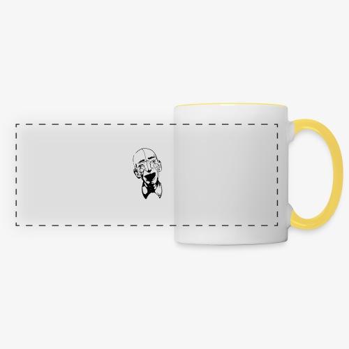 Clown - Mug panoramique contrasté et blanc