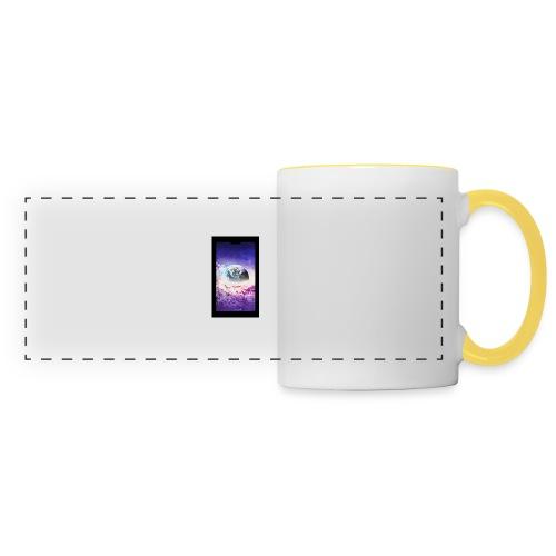 Univers - Mug panoramique contrasté et blanc