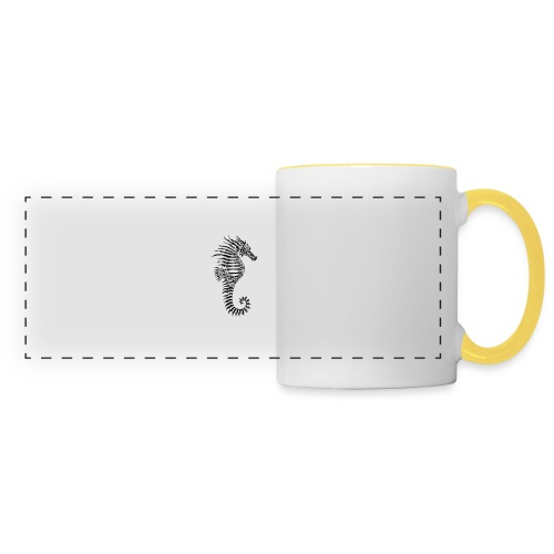 Alien Seahorse Invasion - Panoramic Mug
