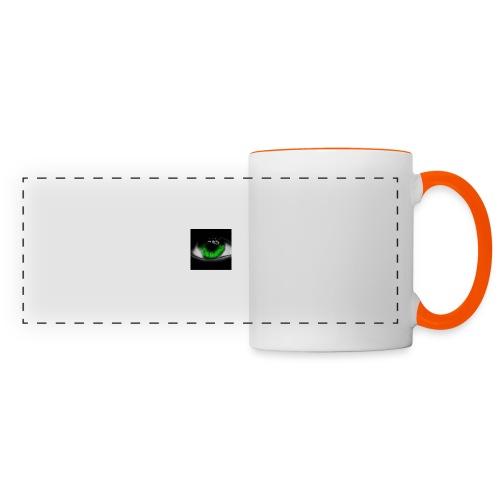Green eye - Panoramic Mug