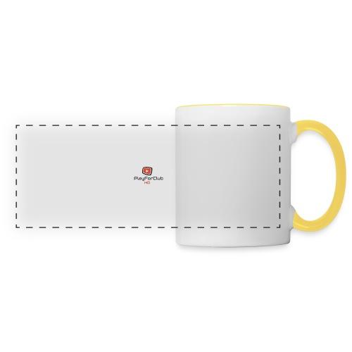 PlayForClub HD - Mug panoramique contrasté et blanc