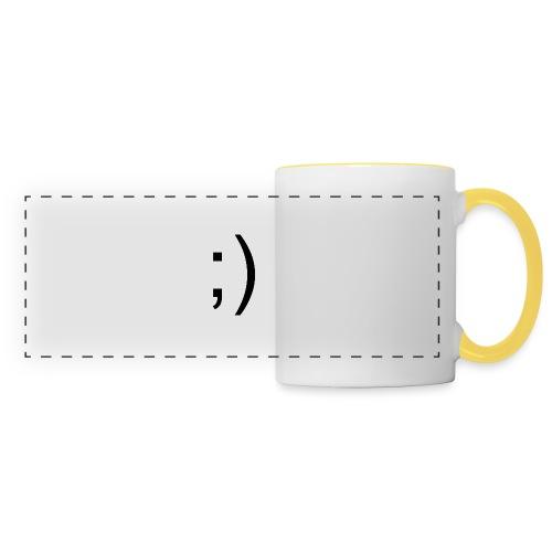 Wink Wink Smile - Panoramic Mug