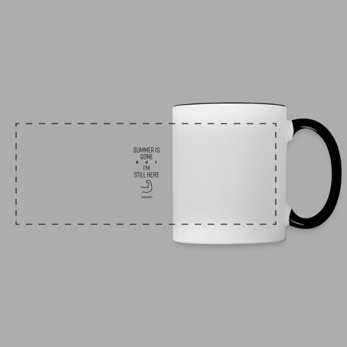 SUMMER IS GONE but I'M STILL HERE - Panoramic Mug