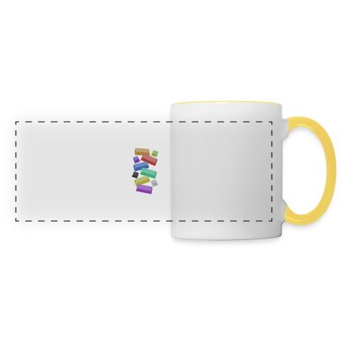 SA Mechanical Keyboard Keycaps Motif - Panoramic Mug